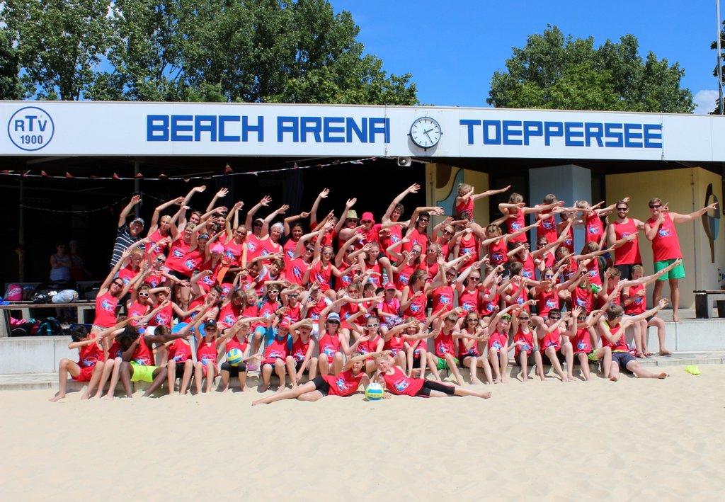 3 perfekte Tage im Sand und ein neues Camp-Shirt für die Sammlung